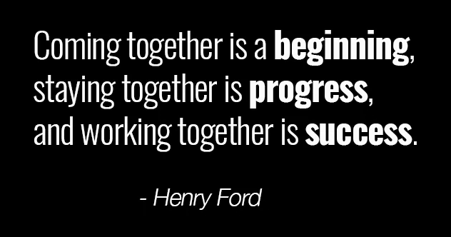 Teamwork Quote Henry Ford